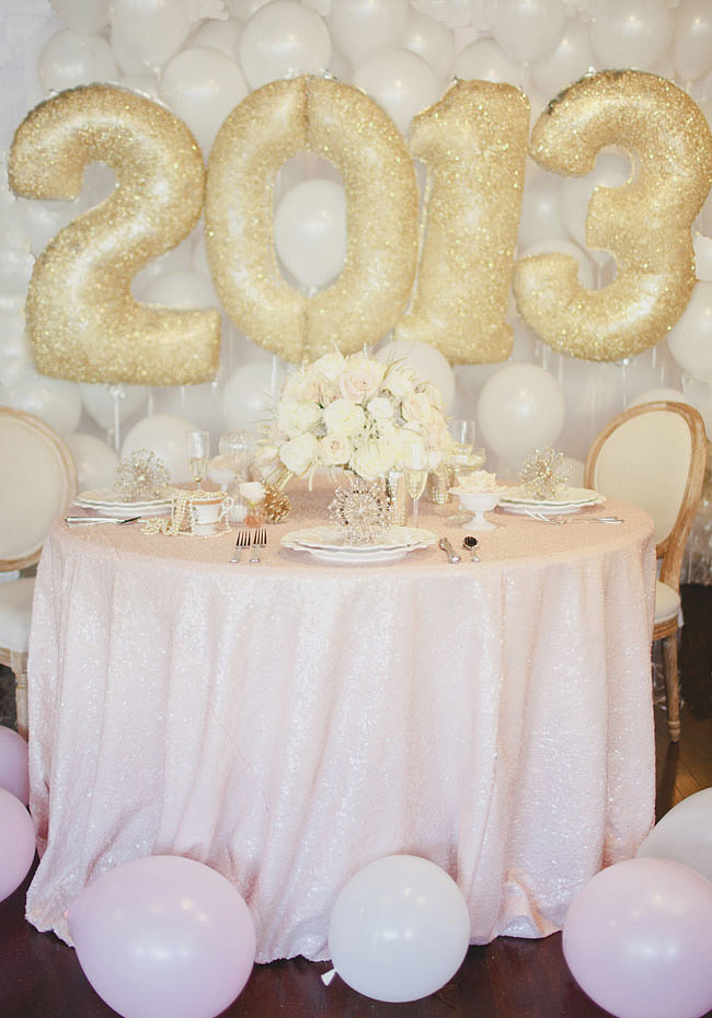 Feminine NYE Photo by Sarah Gormley via Green Wedding Shoes