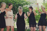 Little Black Dress Photo by Amy Carroll via Green Wedding Shoes