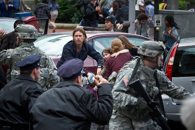 World War Z  Who's starring: Brad Pitt, Mireille Enos, and Matthew Fox Why we're interested: It's Brad Pitt vs. zombies. How can we not be interested? Plus, we rarely get to see him as an action star, and we hope his presence makes this movie stand out from the deluge of other recent zombie flicks. When it opens: June 21  Watch the trailer for World War Z.