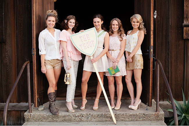 Girl Scouts Photo by Kate Neal via Green Wedding Shoes