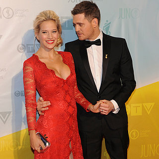 Michael Buble and Luisana Lopilato at 2013 Juno Awards