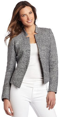 Calvin Klein Women's Notch Collar Jacket