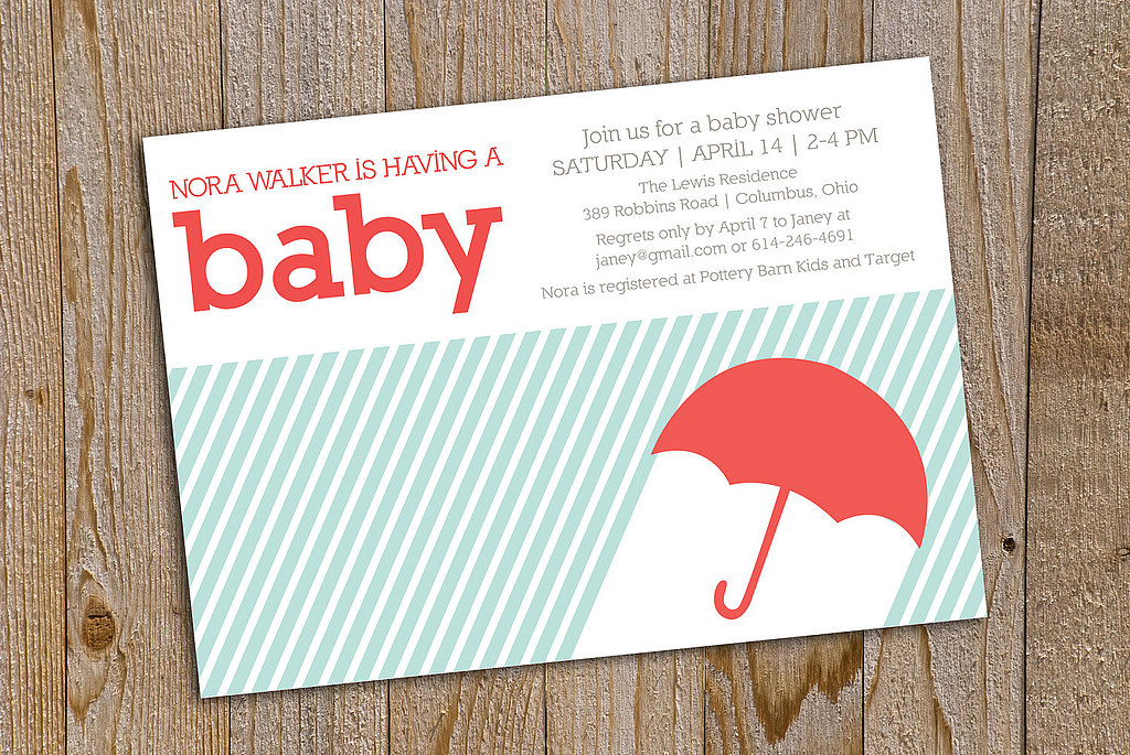 Gel Design's Umbrella Invitation