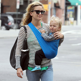 Kate Hudson With Her Kids in NYC
