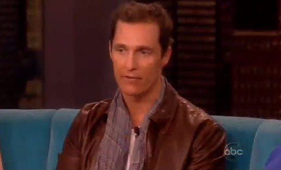 "Matthew McConaughey Talks ""Magical"" Wedding Memories"