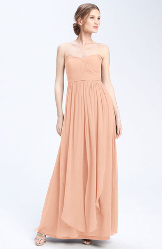 Jenny Yoo 'Aidan' Convertible Strapless Chiffon Gown