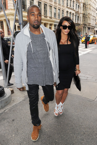 Kim Kardashian and Kanye West Reunite For an NYC Shopping Trip