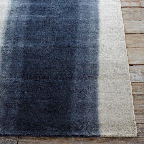 Ombre Dye Wool Rug - Midnight
