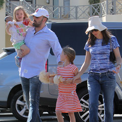 Ben Affleck, Jennifer Garner and Daughters in LA