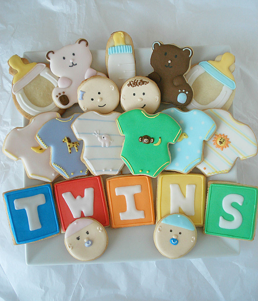 Twins Baby Cookies