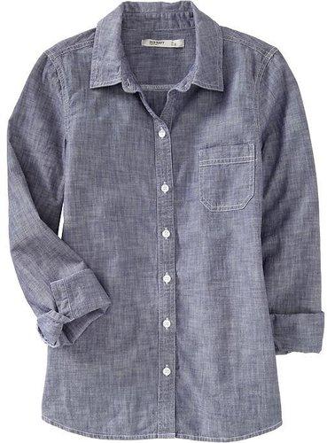 Women's Chambray Shirts