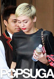 Miley Flaunts Her Ring — and Addresses Jennifer Lawrence's Haircut