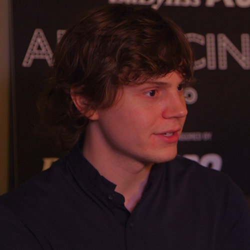 Evan Peters Interview For Adult World | Video