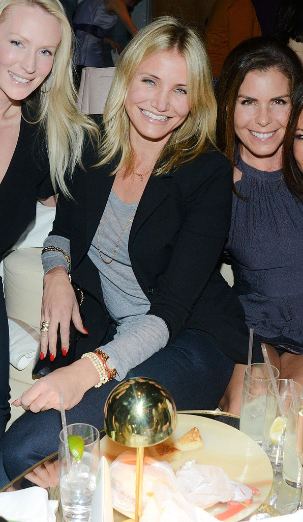 Cameron Diaz buddied up with friends at the annual Greenhouse Project Benefit held at The Standard Hotel in NYC. Source: Carly Otness/BFAnyc.com