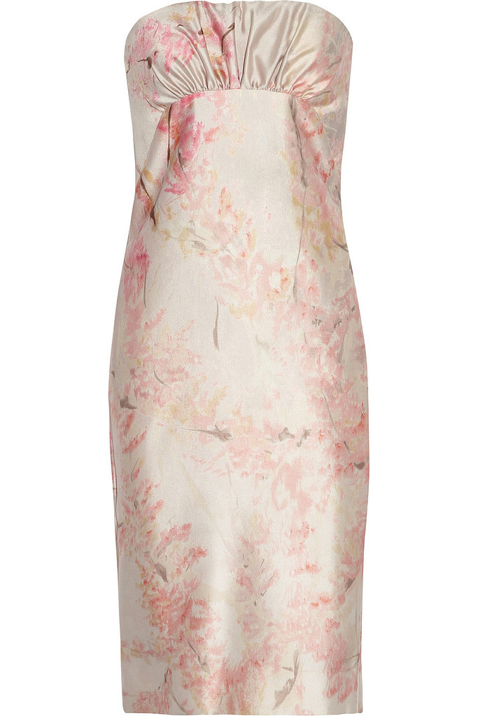 Valentino printed silk and wool-blend dress ($870, originally $3,483)