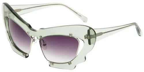 Prabal Gurung X Linda Farrow acetate sunglasses