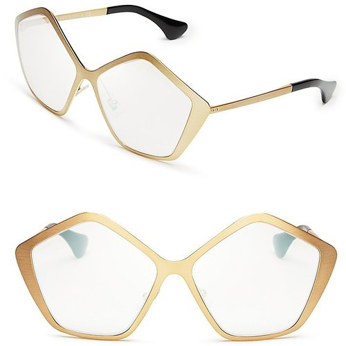 Miu Miu Oversized Star Sunglasses