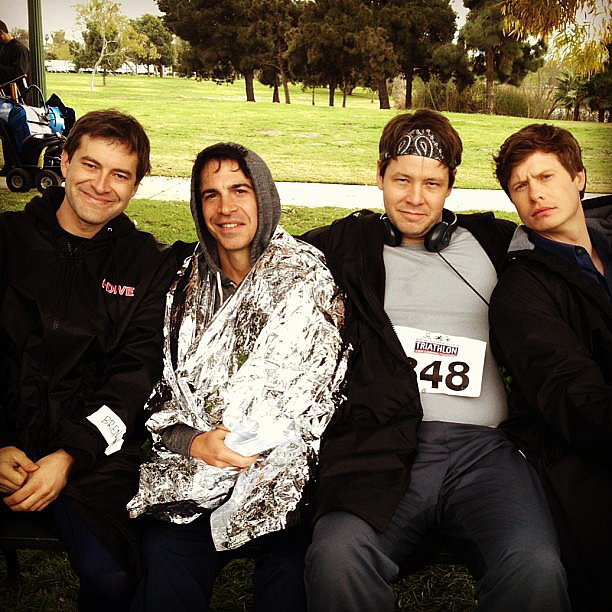 Mindy Kaling teased a picture of the men of The Mindy Project. Source: Instagram user mindykaling