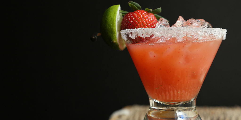 Happy Hour: Strawberry Margaritas