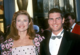 Before Nicole Kidman and Katie Holmes, Tom Cruise wed actress Mimi Rogers in May 1987. They finalized their divorce in February 1990.