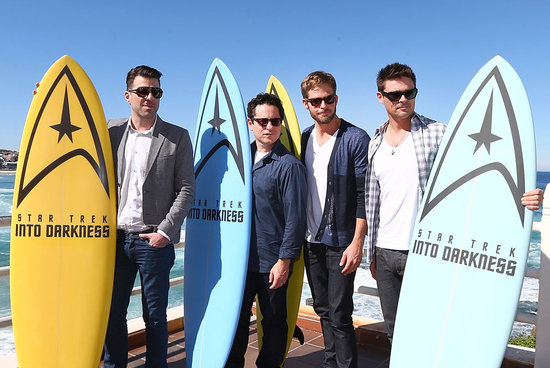 The Men of Star Trek Into Darkness Hit Bondi Beach