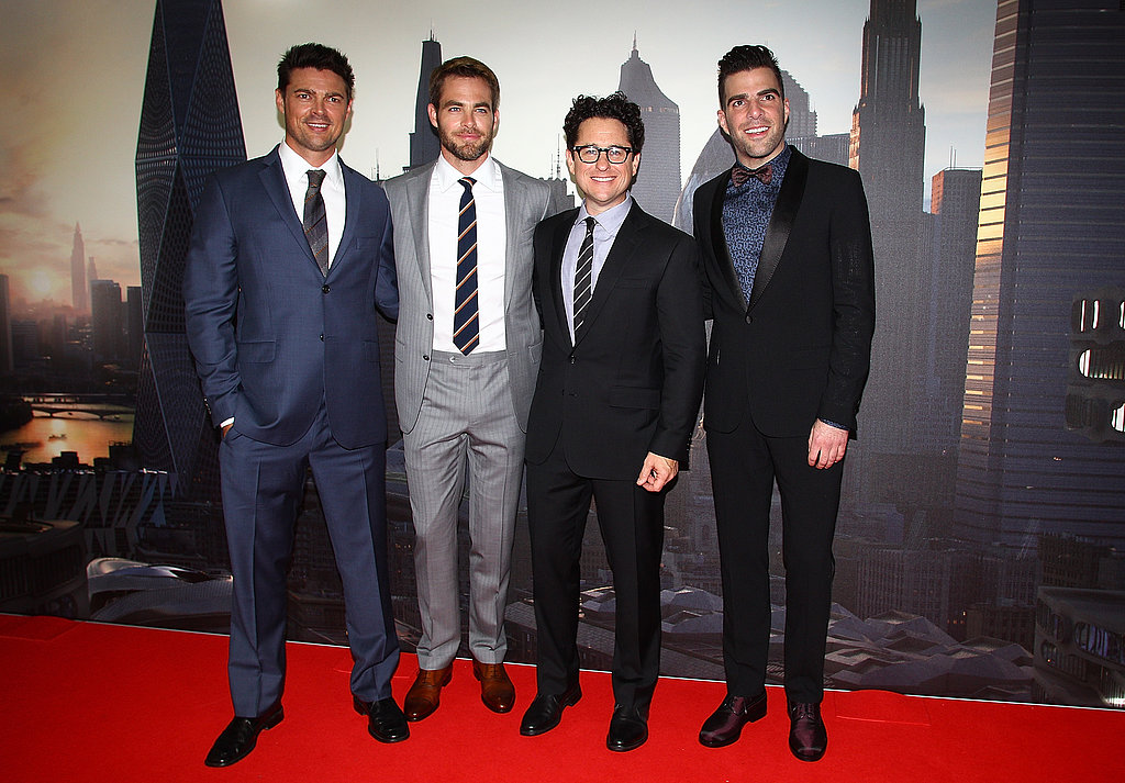 Chris, Zachary, Karl and J.J. Premiere Star Trek Into Darkness in Sydney