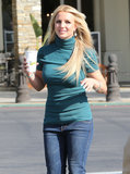 Britney Spears stepped out by herself for coffee in LA.