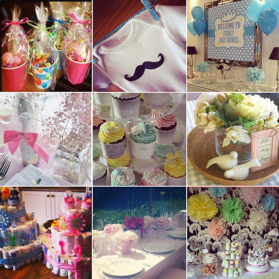 Ideas for baby showers party favors ideas for Baby shower decoration ideas homemade