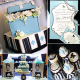 A Baby Shower Inspired by Breakfast at Tiffany's