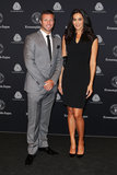 Lucas Neill and Megan Gale