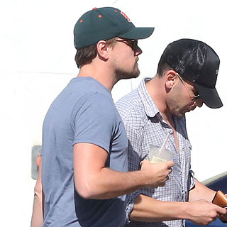 Leonardo DiCaprio With Friends in LA