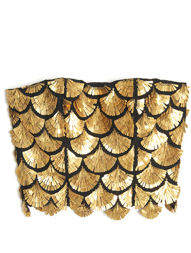 Altuzarra Binta Embroidered Bustier Top