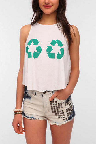 Le Shirt Recycle Cropped Tank Top