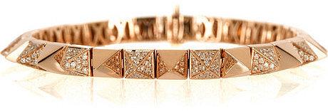 Anita Ko Spike 18-karat rose gold diamond bracelet