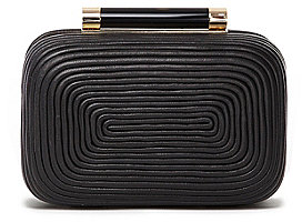Tonda Small Coil Clutch In Black