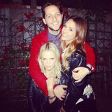 Jessica Alba and Kelly Sawyer helped Derek Blasberg celebrate his birthday. Source: Instagram user jessicaalba