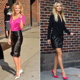 "Kate Hudson Tells Letterman She and Her Mom Goldie Can ""Throw Down"""