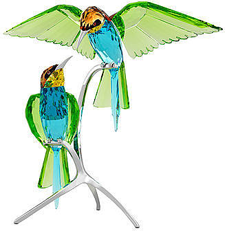 Swarovski Collectible Figurine, Crystal Paradise Bee Eaters