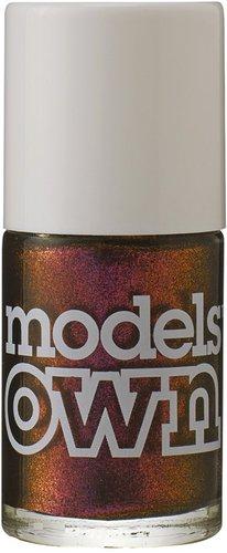 Models Own Beetle Juice Pinky Brown Nail Polish