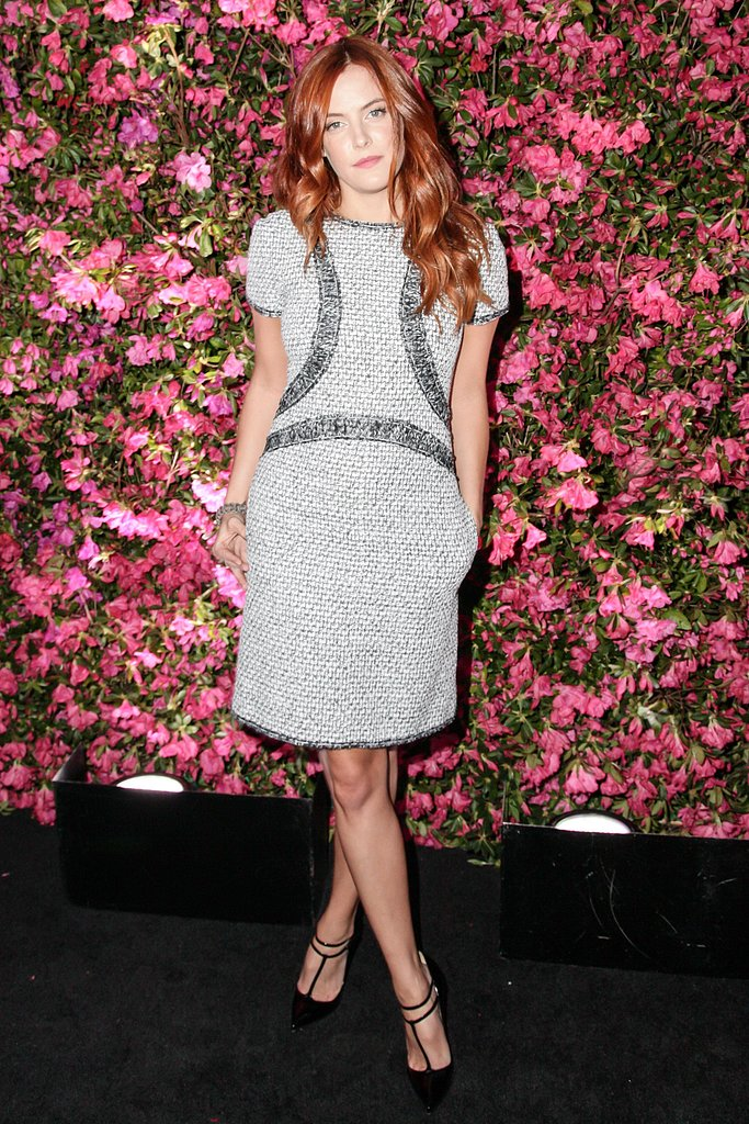 Riley Keough wore Pre-Spring 2013 Chanel. Source: Matteo Prandoni/BFAnyc.com