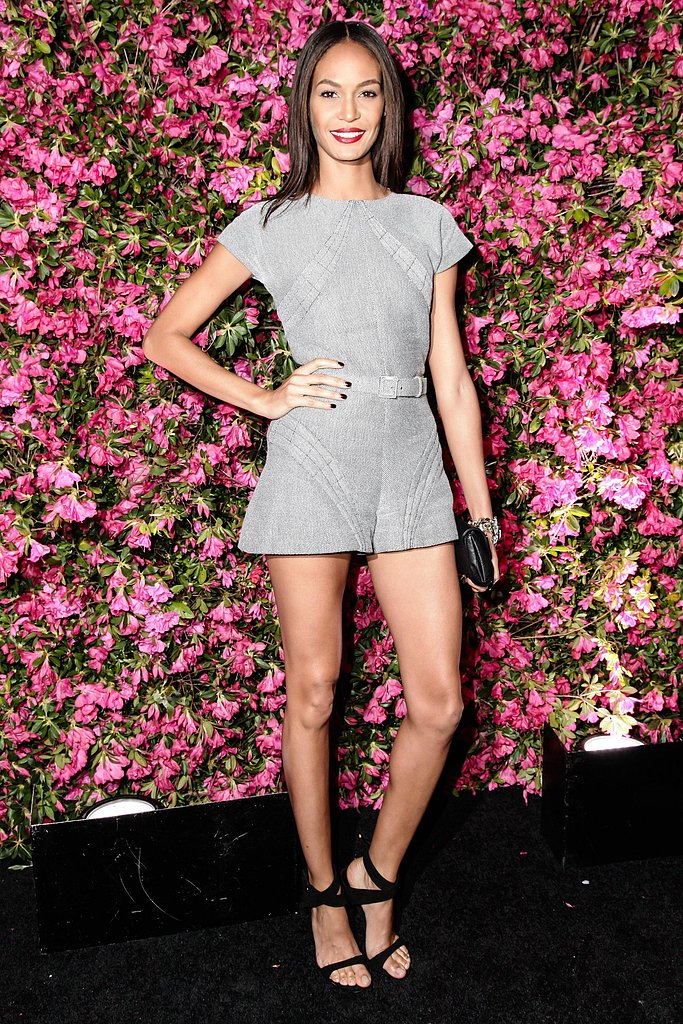 Joan Smalls wore Pre-Spring 2013 Chanel at Chanel's Tribeca Film Festival Artists Dinner in New York. Source: Matteo Prandoni/BFAnyc.com