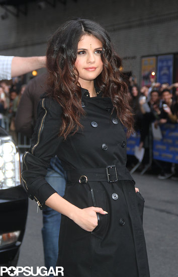 Selena Gomez Goes Sexy For a Late Show Stop