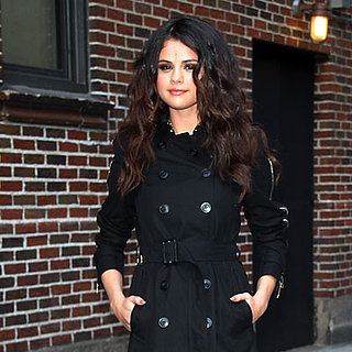 Selena Gomez Performs on Letterman | Photos