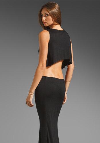 Boulee Cruz Open Back Maxi Dress