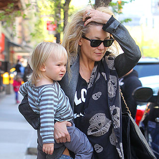 Kate Hudson and Bing Out in NYC | Pictures