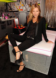 Kate Moss Goes Sheer For a Footwear Fete in London