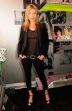 Kate Moss attended the Terry de Havilland store opening in London.