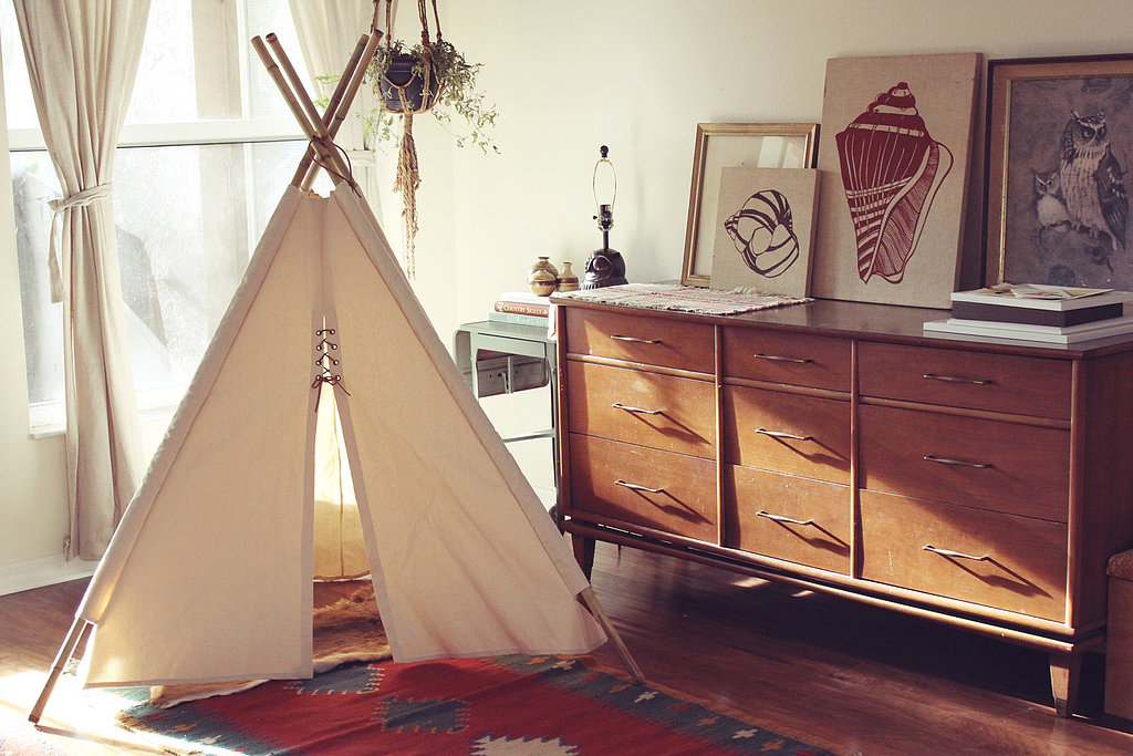 Let their imaginations run wild with this canvas teepee ($150). Your kids will love calling this space their own and you'll love that no assembly is needed.