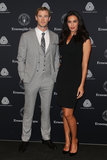 Chris Hemsworth and Megan Gale looked sharp together at the Segna Wool Awards in Sydney on April 23.
