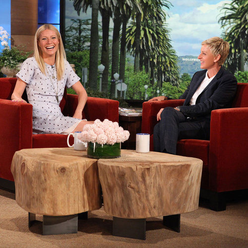 Gwyneth Paltrow Talks Shaving & Her Sheer Dress On Ellen